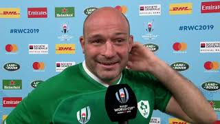 An emotional interview with Rory Best