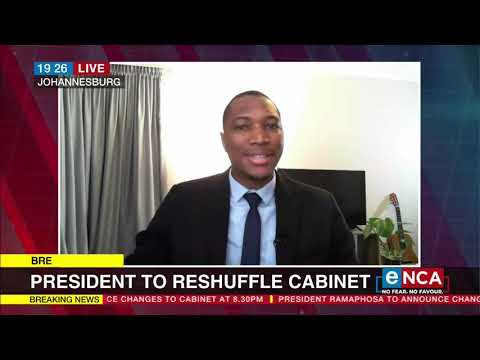 Cabinet announcement at 9 pm