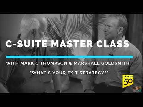 C-Suite Master Class: Exit Strategy