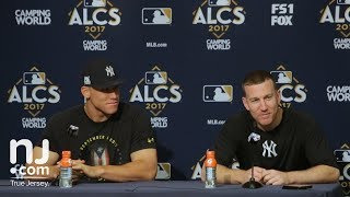Yankees' Todd Frazier about seeing his family during his home run