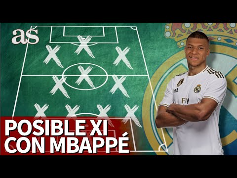 El posible XI futuro del Real Madrid si llegara Mbappé | Diario AS