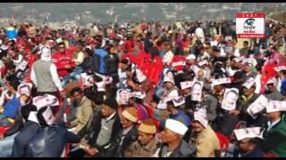 'जनआशीष रैली'- न राहुल गांधी ना ही cm बल्कि किशोर बने हीरो, समर्थकों में दिखा किशोर का जलवा