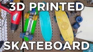 The Half-Penny 3D Printed Skateboard