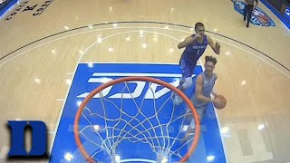 Duke's Alex O'Connell Finishes With Ferocity