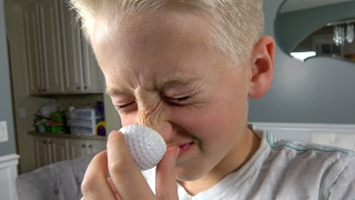 What's inside FARTING Golf Balls?