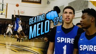 """""""LaMelo Ball... OVERRATED."""" Undefeated Team Is READY To Take Down Spire. Melo Pulls From HALF COURT!"""