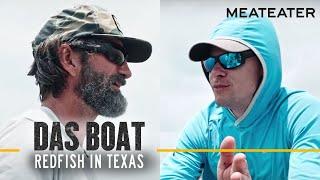 Das Boat Episode 1: Steve Rinella and JT Van Zandt Chase Redfish in Texas