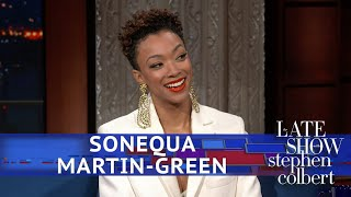Sonequa Martin-Green Comments On Hipster Spock