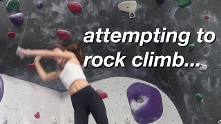 trying to be a rock climber...(getting back into shape update) | Olivia Rouyre