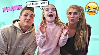 Invisible Prank On Kid *She Ran Home*