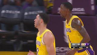 1st Quarter, One Box : Los Angeles Lakers vs. San Antonio Spurs
