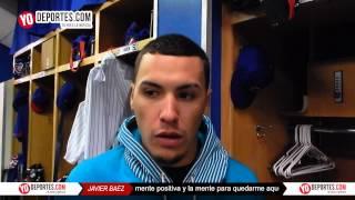 Javier Baez regresa a Chicago Cubs y esta dispuesto a quedarse