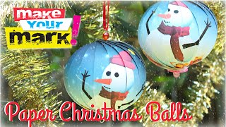 How to: Christmas Balls