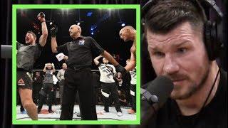 Michael Bisping on Beating Dan Henderson | Joe Rogan