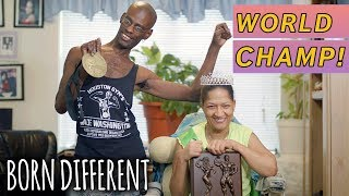 Champion Bodybuilding Couple With Cerebral Palsy | BORN DIFFERENT