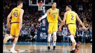 Oklahoma City Thunder vs Los Angeles Lakers NBA Full Highlights (18th January 2019)