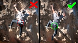 HOW TO USE COORDINATION and MOMENTUM when CLIMBING DYNAMIC