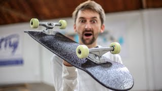 The Worlds First INDESTRUCTIBLE LINE X Skateboard? Line X Ep. 1