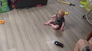 Baby drifting