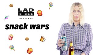 Margot Robbie Reacts to British And Australian Snacks