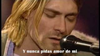 Nirvana - Jesus Don't Want Me For a Sunbeam ( Subtitulado )
