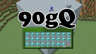 Minecraft på 90gQ - Rikast på servern???
