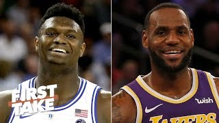 The Lakers should draft Zion Williamson so LeBron can feed him - Stephen A.   First Take