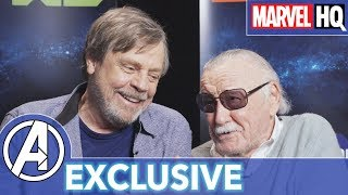 Stan Lee & Mark Hamill Hang Out!   Marvel's Avengers: Black Panther's Quest