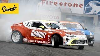Formula Drift Long Beach Testing!   BlackOut EP2 w/Ryan Tuerck & Chris Forsberg