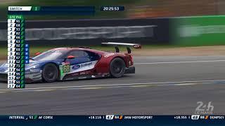 Sébastien Bourdais (Ford n°68) passe en tête en LMGTE Pro - 24 Heures du Mans 2018