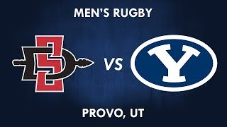 San Diego State vs BYU Rugby 24 March 2018