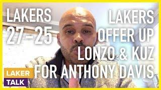 Lakers Offered Lonzo and Kuzma for Anthony Davis, Not Brandon Ingram