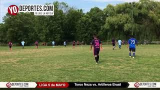 Toros Neza vs. Artilleros Brasil Liga 5 de Mayo