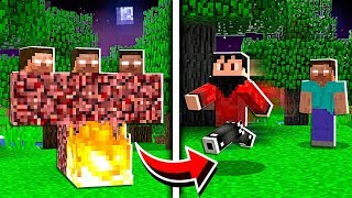 How to SUMMON Herobrine in Minecraft! *SCARY*