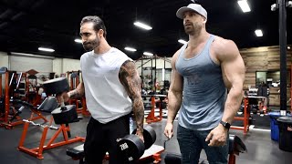 HITTING ARMS WITH DOM MAZZETTI!