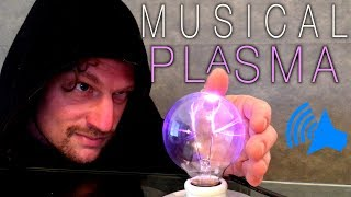 DIY Plasma Ball Theremin! ( Keystone collab)