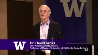 Frontiers of Physics Lecture Series: Dr. David Gross, Spring 2016