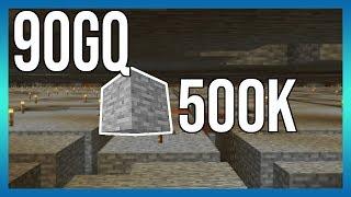 Minecraft på 90gQ 500k STEN!!!