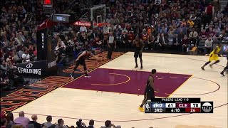3rd Quarter, One Box : Cleveland Cavaliers vs. Indiana Pacers