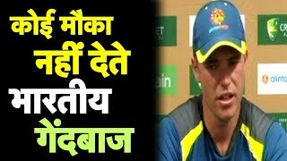 Indian Bowlers Don't Miss Chances: Marcus Harris   Sports Tak