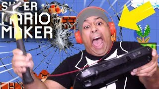 THIS IS THE FINAL EPISODE! I BROKE MY Wii U CONTROLLER!! [SUPER MARIO MAKER] [#200]