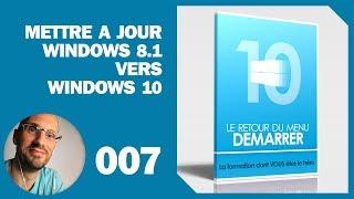 Mettre à jour Windows 8.1 vers Windows 10