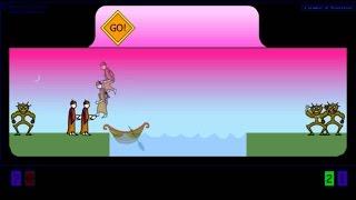 Cannibals & Missioneries flash puzzle game.