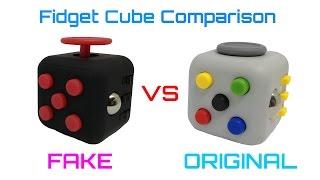Fidget Cube Comparison Fake vs Original
