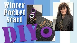 All-Star Designers Winter Series: Winter Pocket Scarf