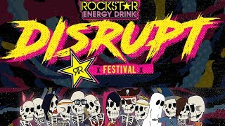 Rockstar Energy 'Disrupt Tour' Reveals Massive Lineup