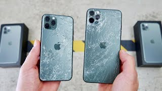 iPhone 11 Pro DROP Test! Worlds Toughest Glass!