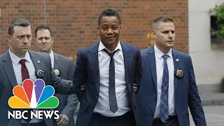 Cuba Gooding Jr. Arrives At Court Over Forcible Touching Charge   NBC News