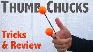Thumb Chucks Review & Tricks - Great Fidget Skill Toy 2017