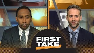 Stephen A. and Max react to Lakers breaking Rockets' win streak | First Take | ESPN